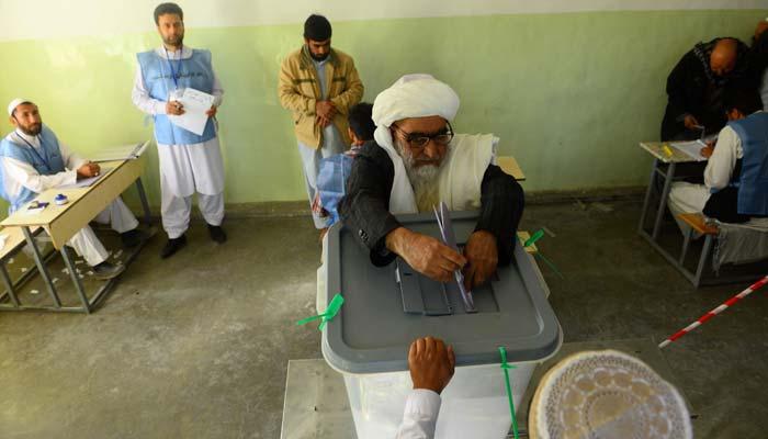 আফগানিস্তানে জাতীয় নির্বাচনের ভোট চলছে
