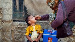 পাকিস্তানে হাজারো শিশু এখনও পোলিওর ঝুঁকিতে